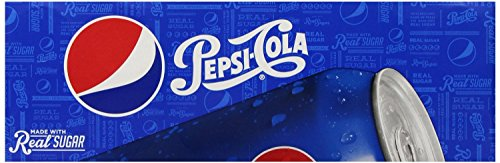 Pepsi Real Sugar, 12 Ounce (24 Cans) by Pepsi