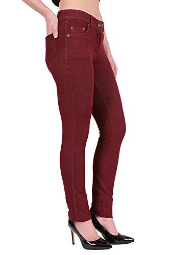Para Mujer Rojo Fashions Vaqueros Parsa 7EqYwTzq