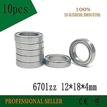 10 each 6701ZZ 12 X 18 X 4 Bearing