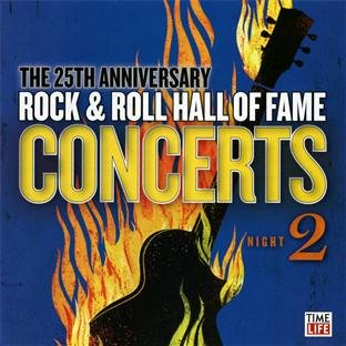 25th anniversary of the rock n roll hall of fame