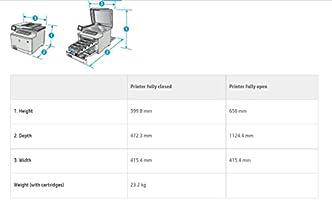 HP Color LaserJet Pro MFP M477fdw - Impresora láser a color (A4 ...