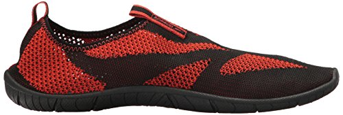 Speedo Herren Surf Knit Athletic Wasserschuh Schwarz / Orange