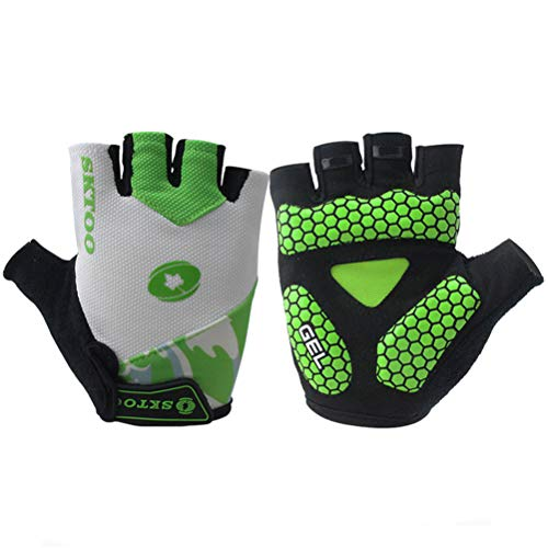 SKTOO Sports Half Finger Cycling Gloves Bike Bicycle Gloves Guantes Ciclismo Bycicle Accessories New Summer
