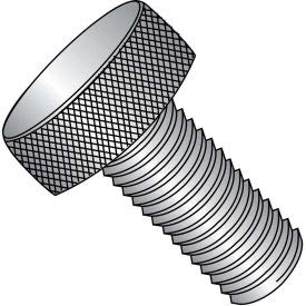 #4-40 x 3/8'' Knurled Thumb Screw - FT - 18-8 Stainless Steel - Pkg of 100 (0406TK188)