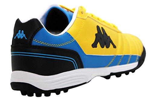 Kappa - Botines hombre amarillo/azul