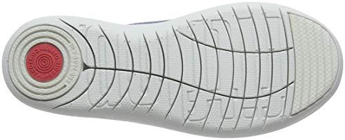 Blue Uberknit Sneakers metallic 613 Collo A Fitflop indian Donna Sneaker on Metallic Alto Slip qpdIwtv