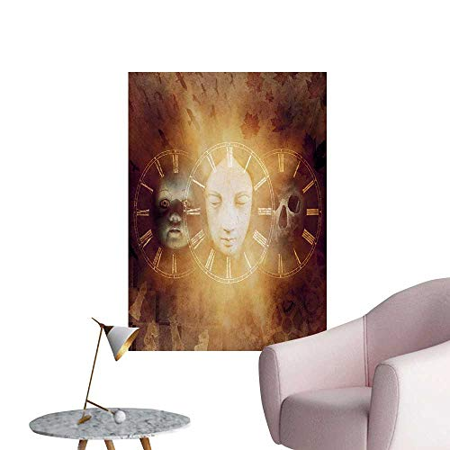 Anzhutwelve Psychedelic Painting Post Gothic Spooky Birth Life