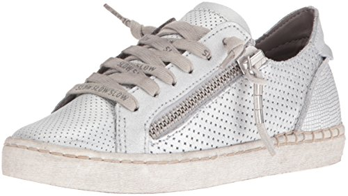 Dolce Vita Women's Zombie Fashion Sneaker, Silver, 8.5 UK/8.5 M US