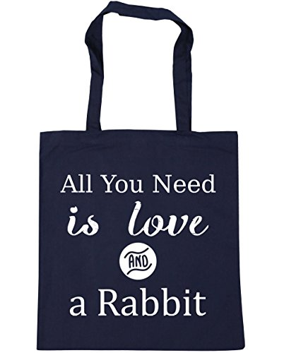x38cm You 42cm a Shopping Bag Navy Tote and French Need 10 Gym Beach litres HippoWarehouse All is Rabbit Love pqAxOwB65n
