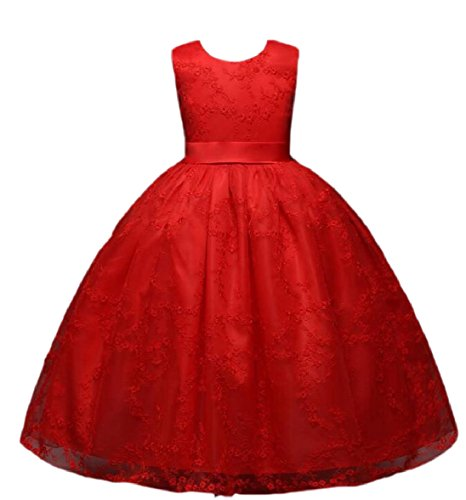 Maxi Ball Tulle Party Girl Prom zhaoabao 4 Flower Gown Dress Princess AU Kids Lace PYc0YAB1W