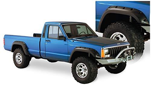 Bushwacker 10912-07 Jeep Cut-Out Fender Flare - Set of 4