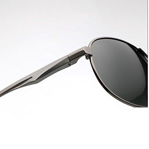 de métal pour UV400 A polarisé Premium Lunettes Hommes Aviateur Cadre Conduite Soleil Classique Couleur Les des A en Protection Pilote Femmes avec wg5FS
