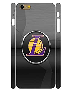 Artistic Collection Mobile Phone Case Sporty Symbol Basketball Teams Pattern Drop Proof Case Cover for Iphone 6 Plus (5.5) Inch (XBQ-0286T)
