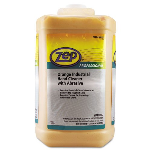 ZEP 1045070 Industrial Hand Cleaner, Orange, 1gal Bottle by Zep Professional (Image #1)