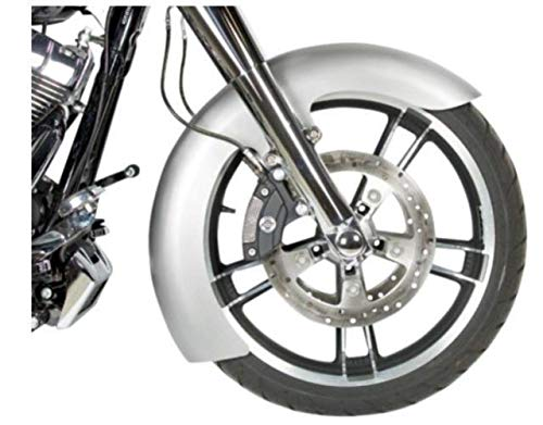 Russ Wernimont Designs LS-2 Style Custom Dresser Front Fender - 6in. Wide for 19in. Wheels - Fender Rwd Front