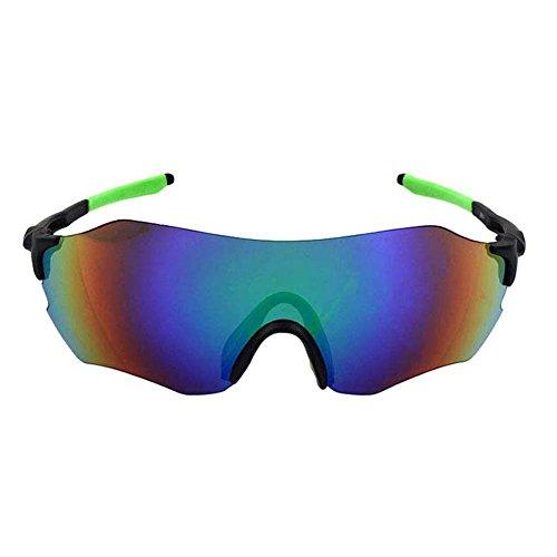 SUDOOK uomo sport occhiali da sole senza montatura Siamesi ciclismo corsa guida pesca escursionismo, sci da sole, glasses 2
