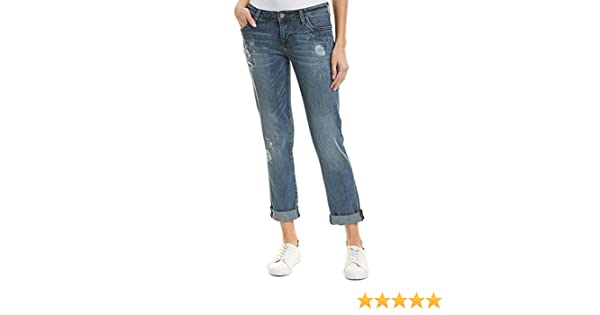 KUT from the Kloth Womens Catherine Boyfriend Jeans in Hearten