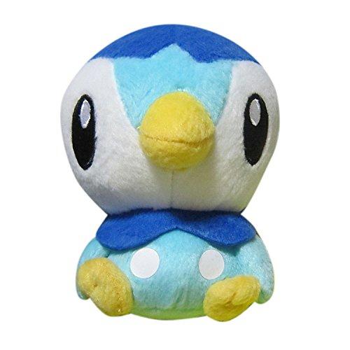 Pokémon the Movie Choose You! round Stuffed Plush Figure toy Vol.1 pokemon Piplup (Piplup Pokemon)
