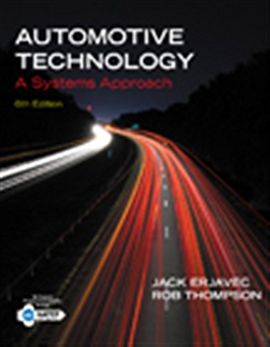 Automotive Technology: A Systems Approach, 6Th Edn