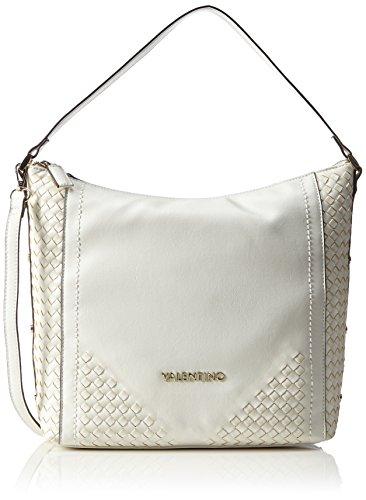 Valentino Kalua - Bolso de hombro Mujer Blanco - Weiß (BIANCO)
