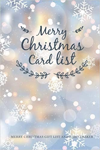 christmas card list christmas card address book personalized