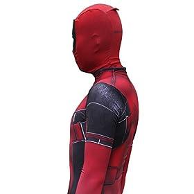 - 41Dmx8F2rTL - Pizone Unisex Spandex Zentai Halloween Onesie Fullbody Elastic Bodysuit Adult/Kids