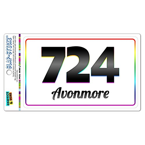 area-code-rainbow-window-laminated-sticker-724-pennsylvania-pa-acme-charleroi-avonmore
