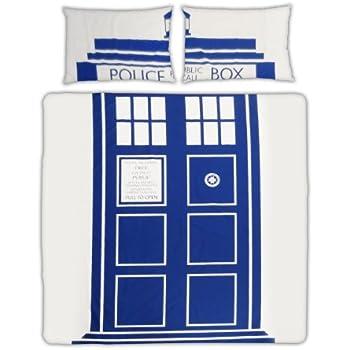 Dr Who TARDIS Double Duvet Set