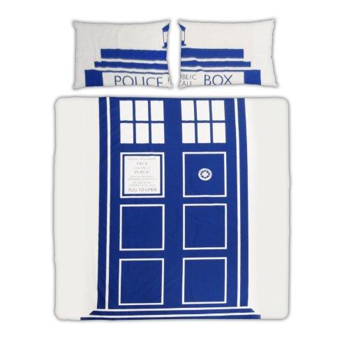 Doctor Who TARDIS Double Duvet Set