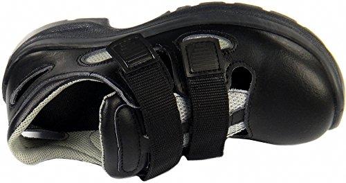 Sicherheitssandale 0613 schwarz S1