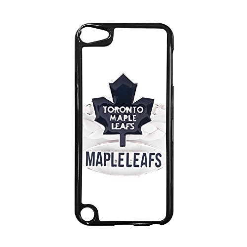 NHL Team Logo-Ipod Touch 5th Case Toronto Maple Leafs for Girls, Creative NHL Toronto Maple Leafs Silicone Case Cover for Ipod Touch 5th Drop Resistant MakeupCases