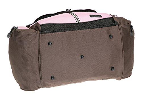 Sporttasche @VENTURE Fitness Tasche Sport Tasche PINK / BRAUN
