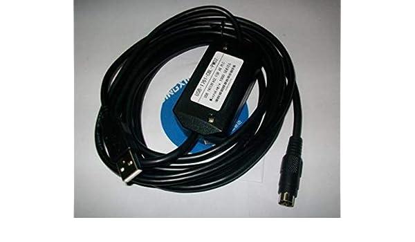 USB//1761//CBL//PM02 Calvas Adaptador USB USB-1761-CBL-PM02 para A-B MicroLogix 1000,1200 com o indic 1400,1500 S/érie USB 1761 CBL PM02