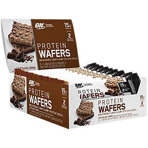 Protein Wafers Chocolate Creme (9 Packs)