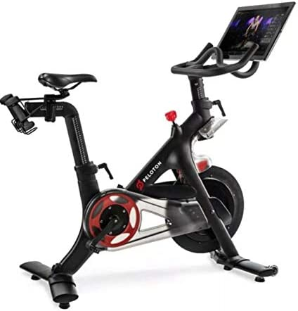 Peloton Indoor Exercise Bike With Hd Touchscreen Sports Outdoors Amazon Canada