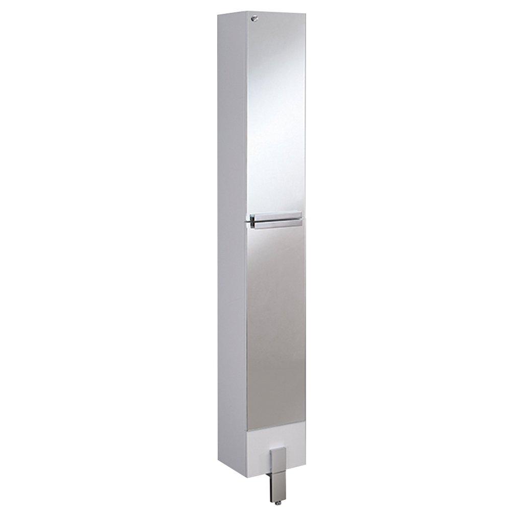 Fresca Bath Adour Bathroom Linen Side Cabinet, Mirrored