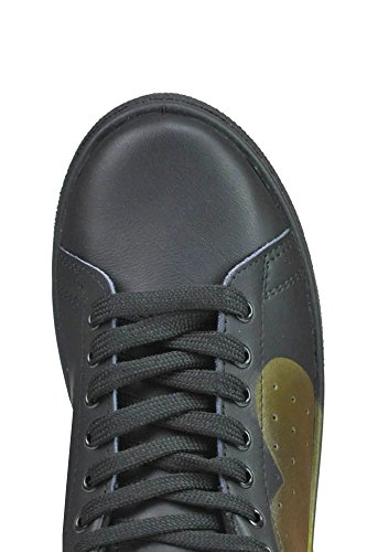 Black Leather Sneakers MCGLCAK03065E Women's RUBENS NIRA tqKwvTHf