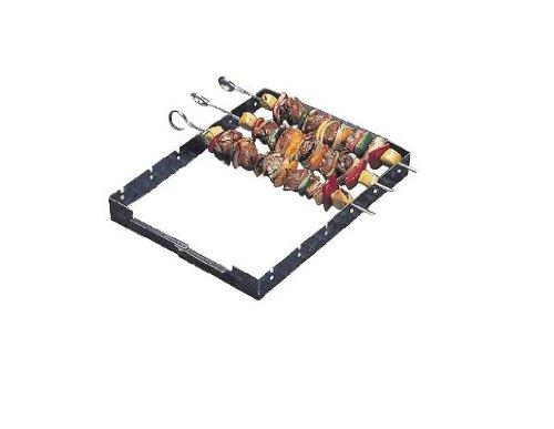Char-Broil Chrome Skewer Set and Frame