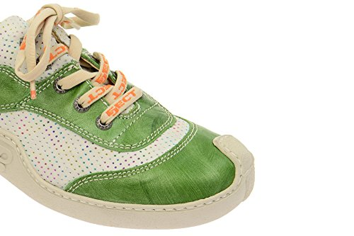 Women's Eject Lace Up 16918 Grün 003 Half Shoe Classic 1 F1w1drq