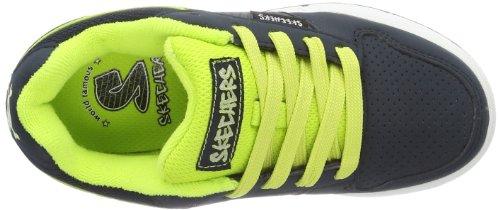 Skechers EndorseSkate Game - Caña baja de cuero niño azul - Blau (NVLM)
