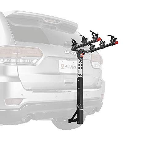 - Allen Sports 3-Bike Hitch Mount Rack with 1.25/2-Inch Receiver