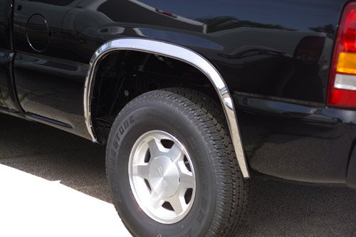 - Putco 97290 Stainless Steel Fender Trim Kit for GMC Sierra