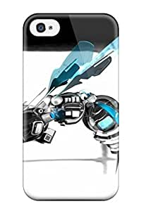 New Style ZippyDoritEduard Hard Case Cover For Iphone 4/4s- Robot Bee