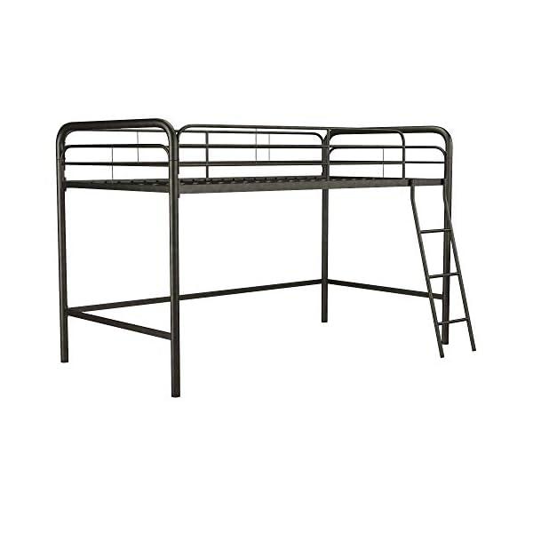 DHP Junior Loft Bed Frame with Ladder, Multifunctional Space-Saving Design 5