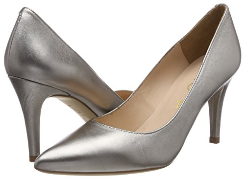 Steel Gold Women's Unisa Tegar lmt Heels Closed Toe steel 6PZ87wqEZ