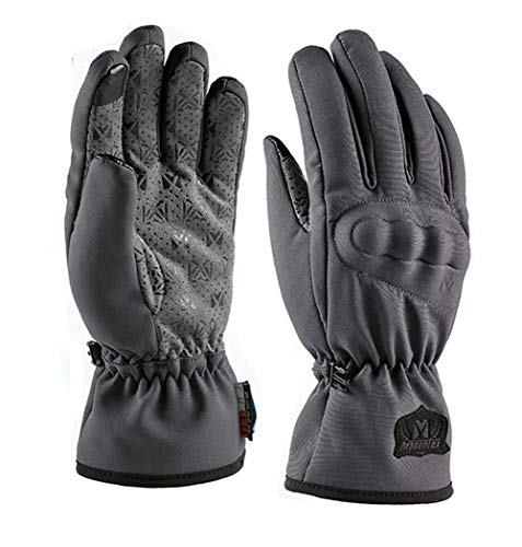 Winter Motorradhandschuhe 100% Wasserdicht-Touchscreen Winterhandschuhe Warm Winddicht Motocross Radlerhandschuhe Schutz…