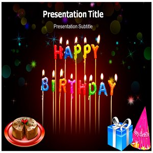 amazon com happy birthday powerpoint templates happy birthday ppt