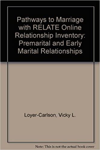 Book Pathways to Marriage with RELATE Online Relationship Inventory: Premarital and Early Marital Relationships