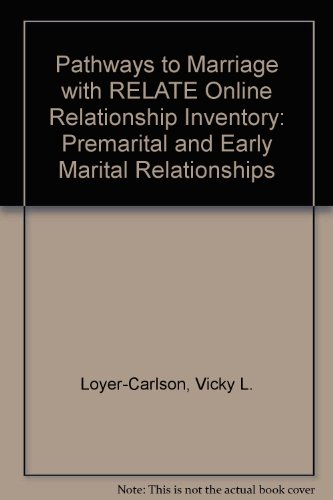 Pathways to Marriage with RELATE Online Relationship Inventory: Premarital and Early Marital Relationships