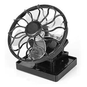 DIGIFLEX Nuevo ventilador refrigeración de clip funciona con energía solar con minipanel solar